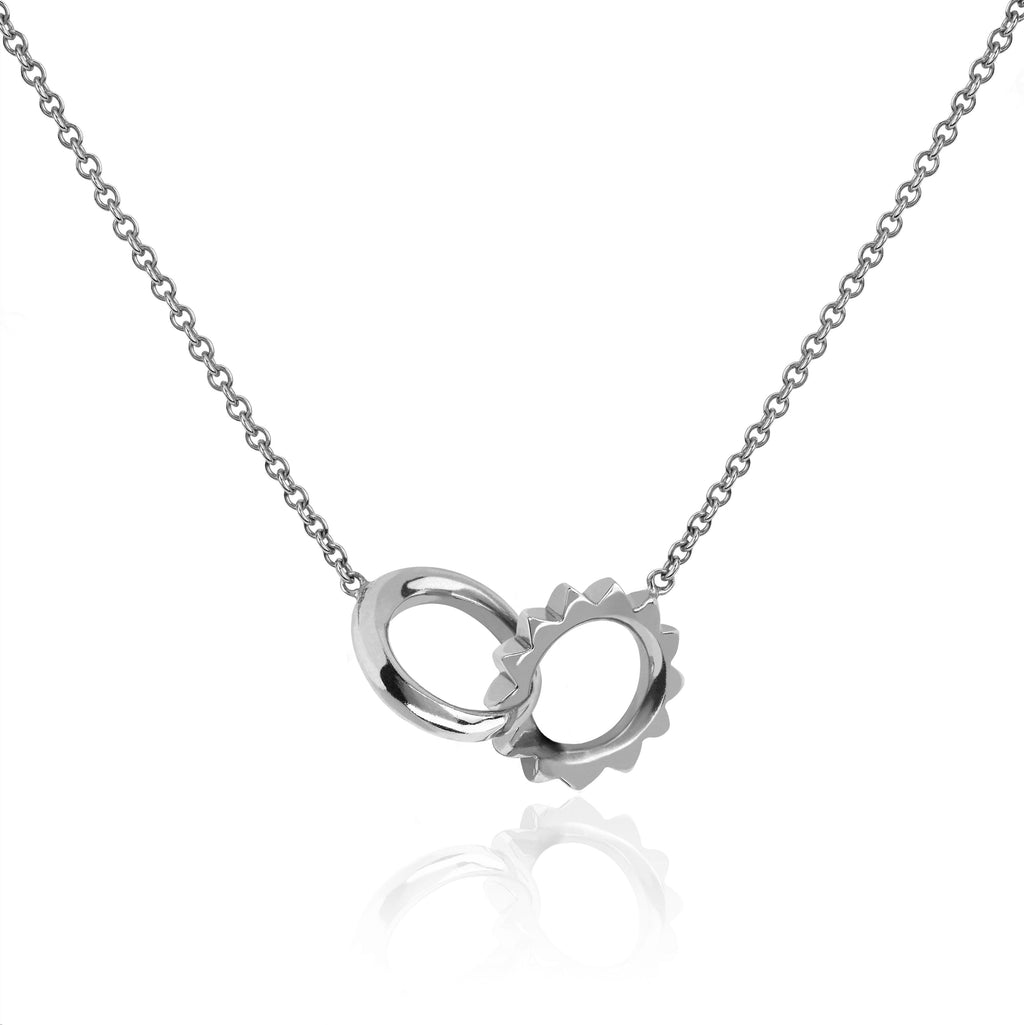 Solid Interlocking Unity Necklace Solid Interlocking Unity Necklace
