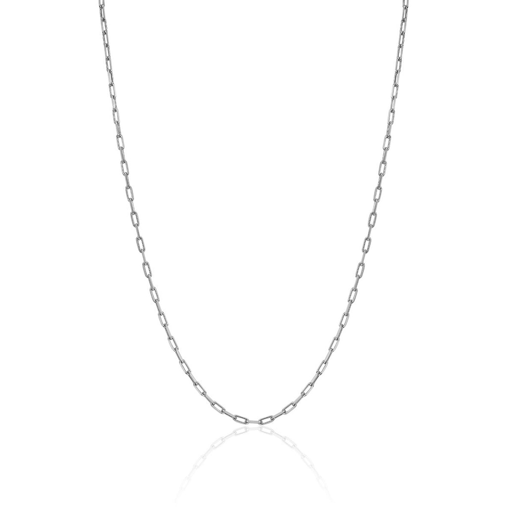 Baby Alchemy Link Necklace White Gold