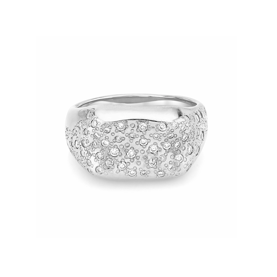 NEW! Pavé Diamond Oracle Ring