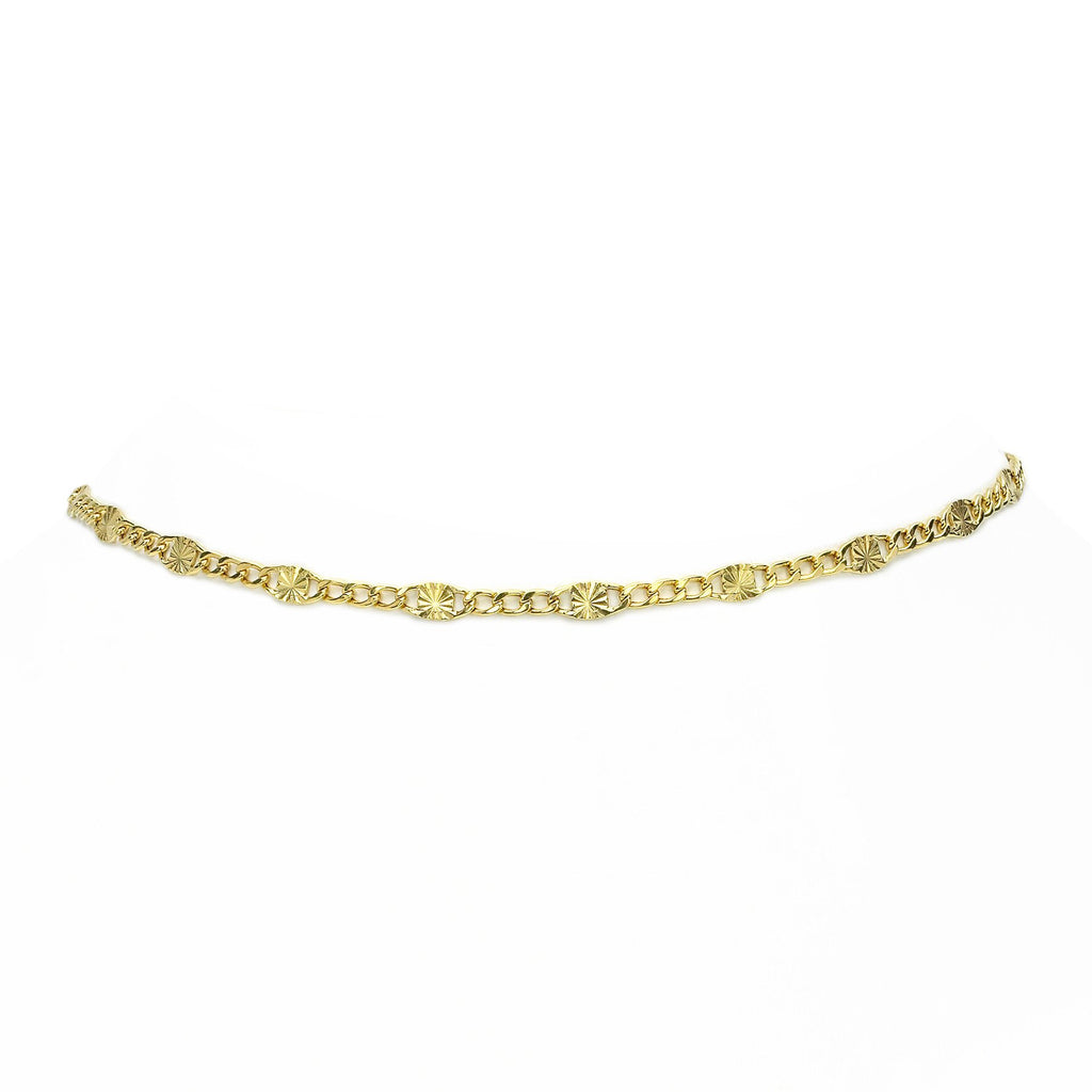 Waif Choker Yellow Gold