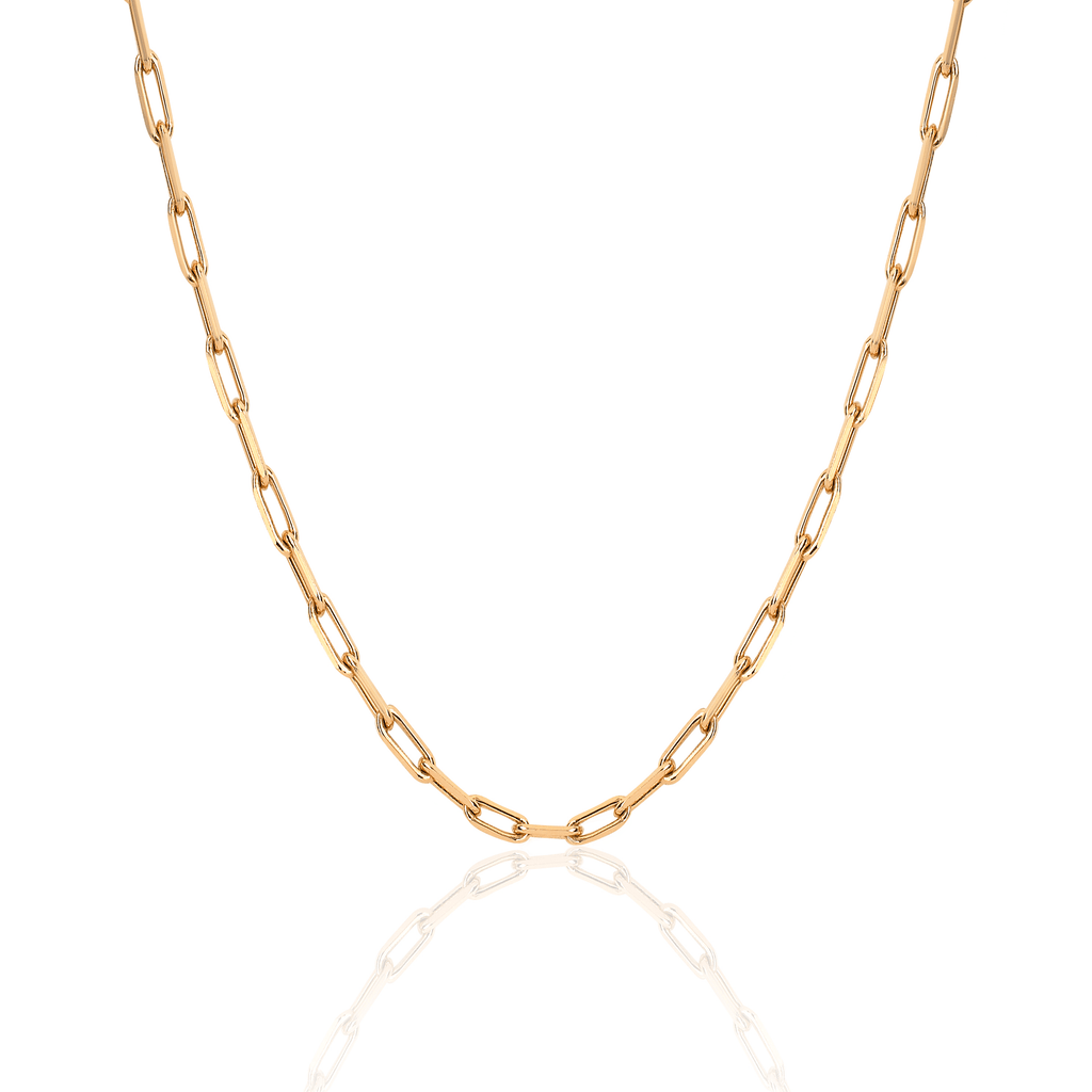 Alchemy Link Necklace Yellow Gold