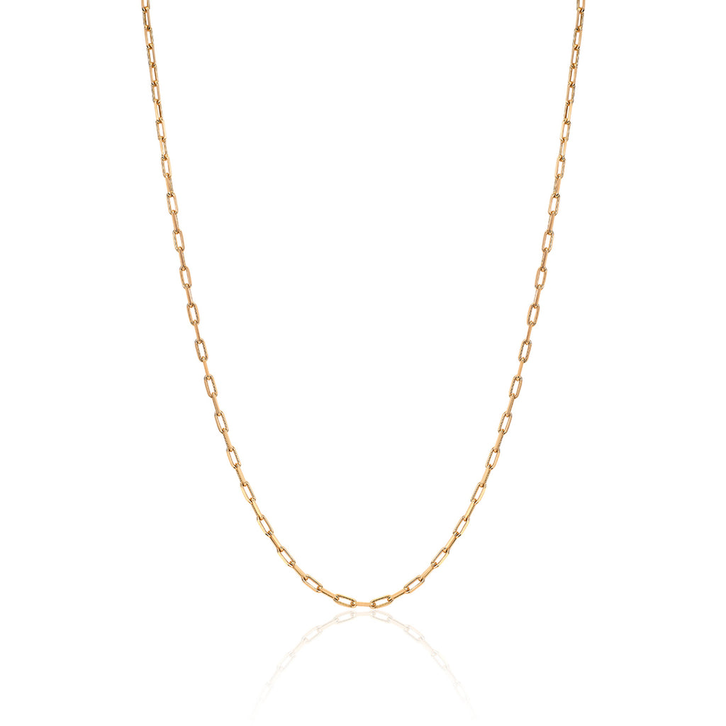 Baby Alchemy Link Necklace Yellow Gold