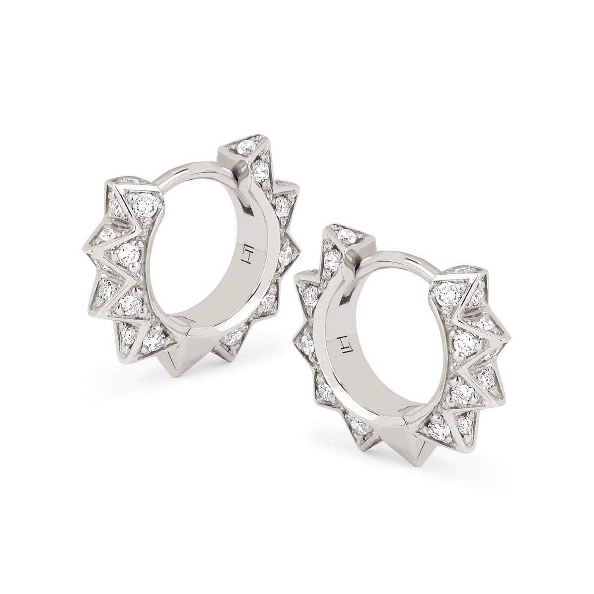 Diamond Unity Sun Hoops