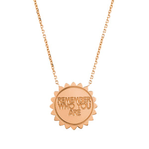 Medium 11:11 Sunshine Necklace with Diamonds
