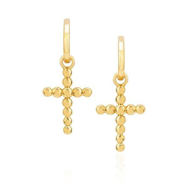 NEW! Celestial Cross Hoops