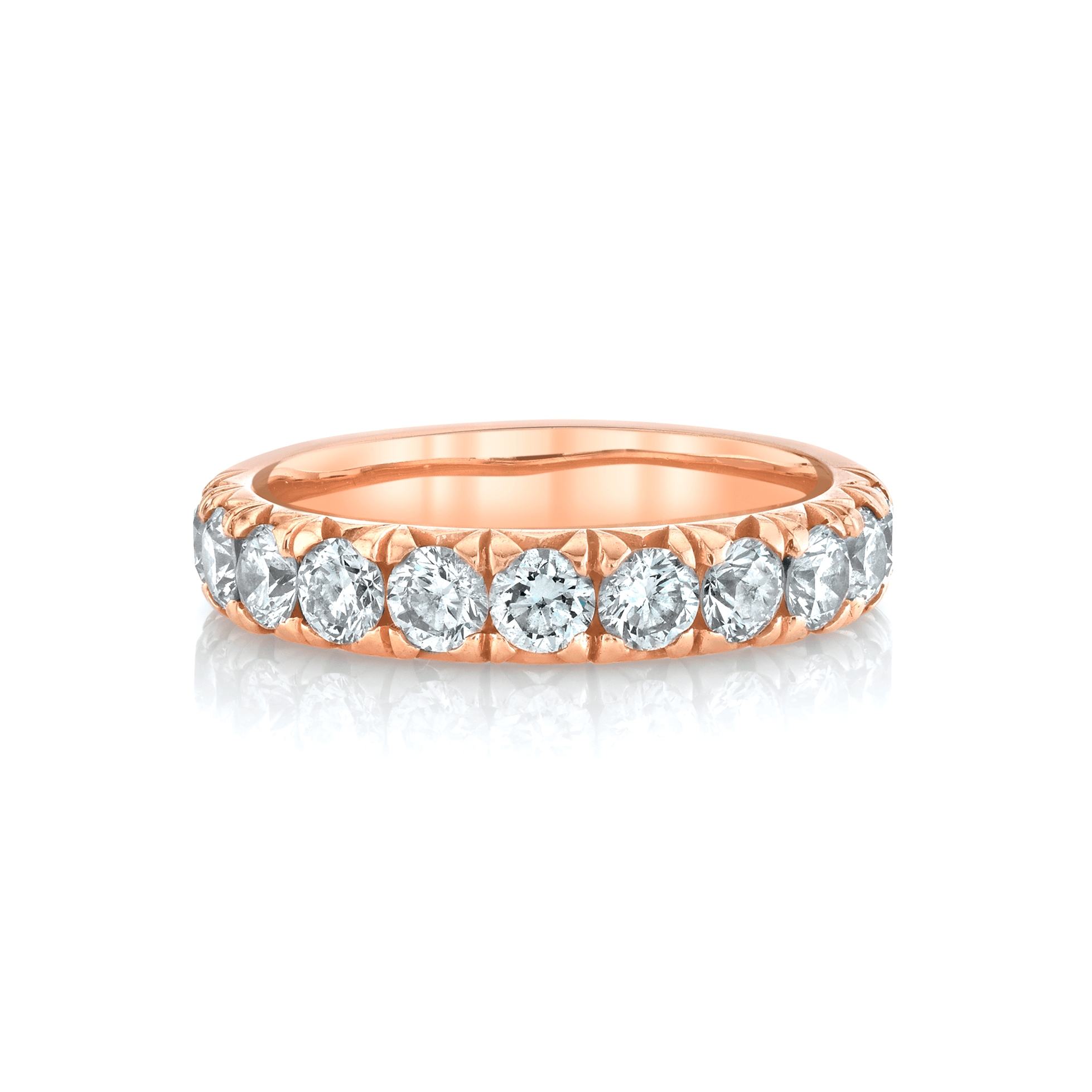 NEW! French Pavé Diamond Cloud Fit Band