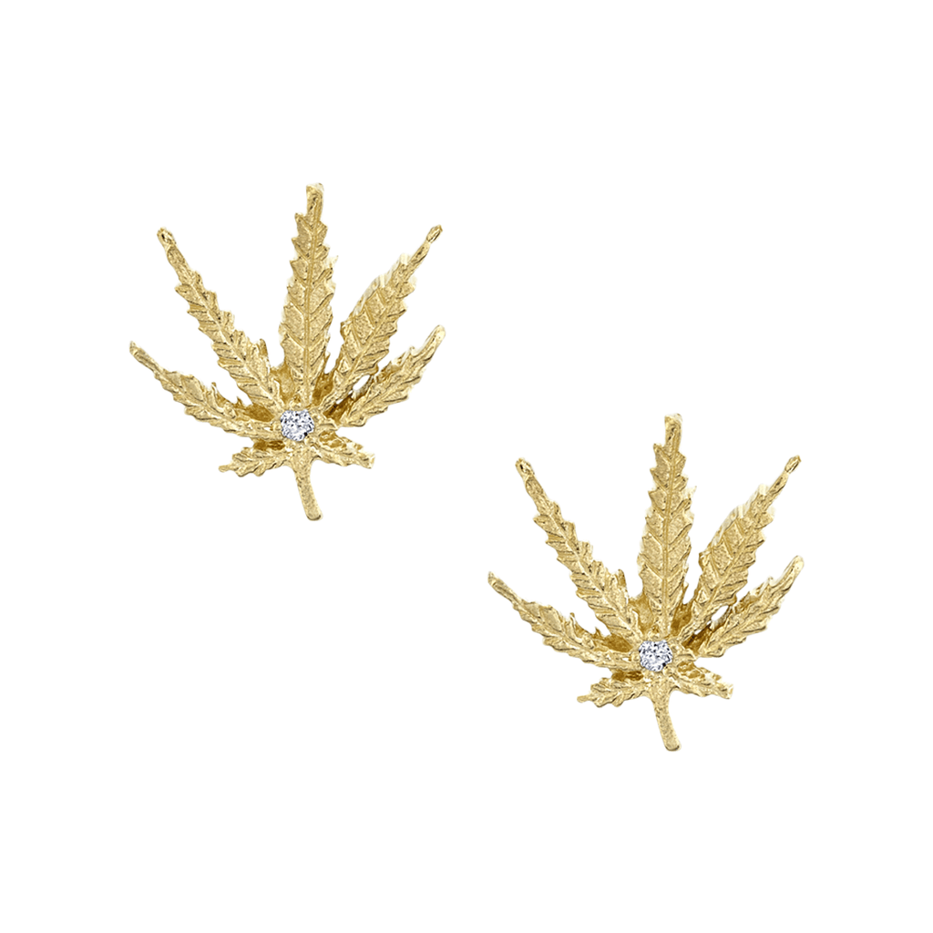 NEW! Kaya Leaf Studs NEW! Kaya Leaf Studs