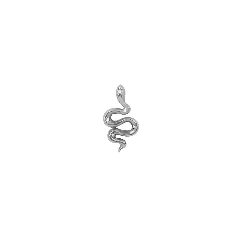 Kundalini Snake Studs with Diamonds Kundalini Snake Studs with Diamonds
