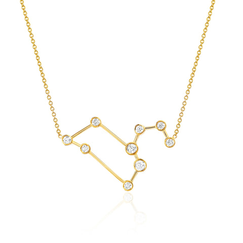 NEW! Leo Diamond Constellation Necklace