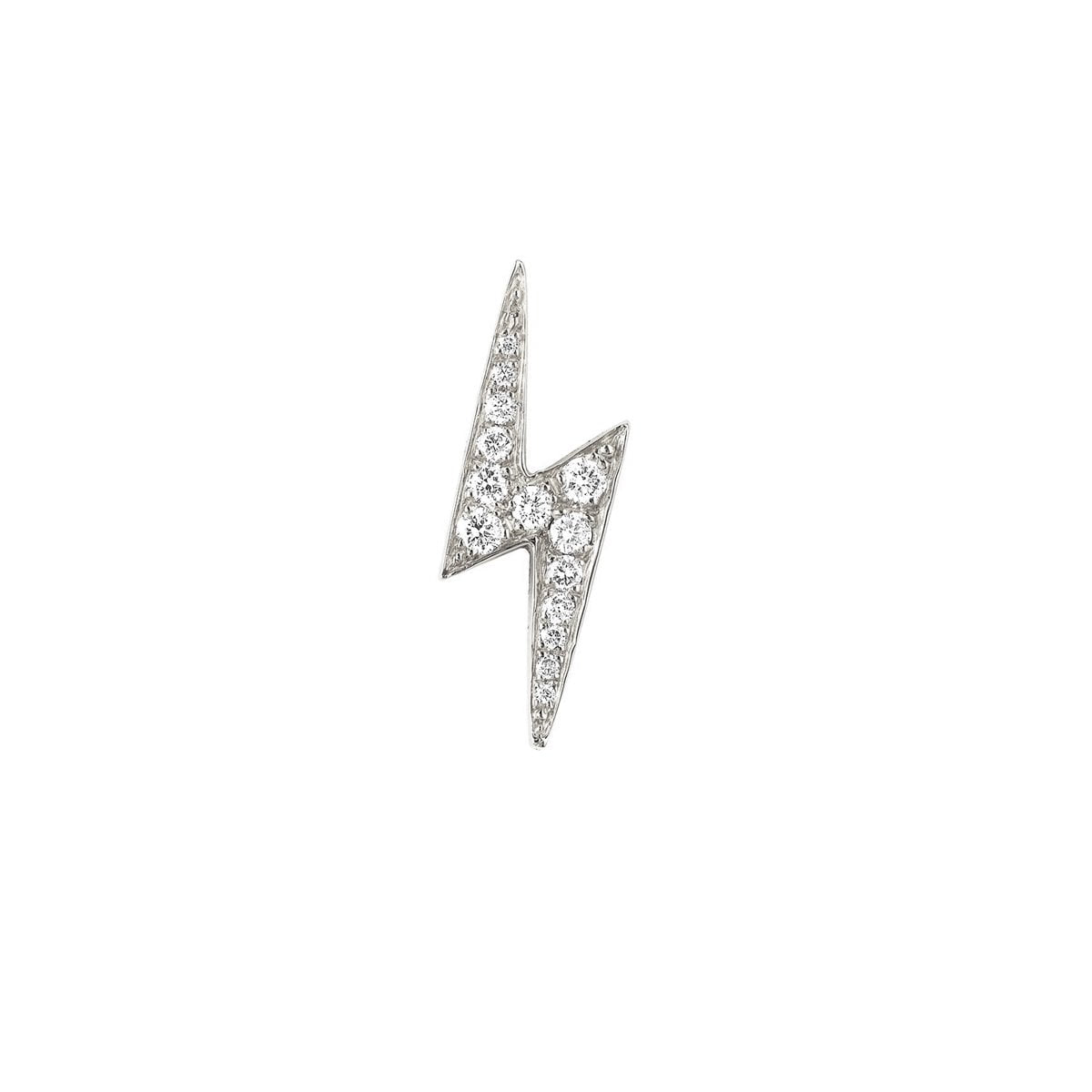 Pavé Diamond Bolt Studs