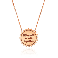 Classic ONE LOVE Sunshine Necklace with Diamonds Classic ONE LOVE Sunshine Necklace with Diamonds