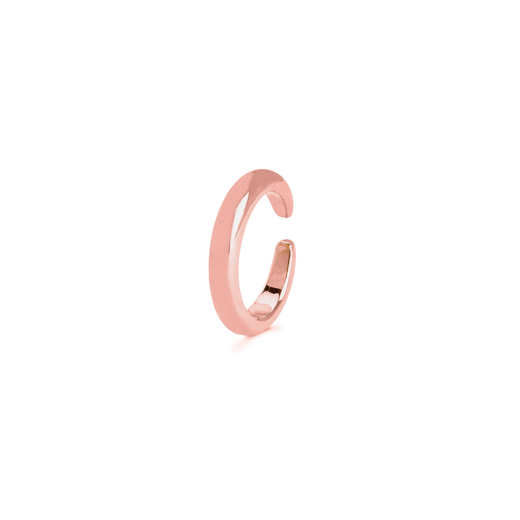 Solid Ear Cuff Rose Gold