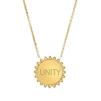 NEW! Classic Unity Sunshine Necklace with Diamonds NEW! Classic Unity Sunshine Necklace with Diamonds