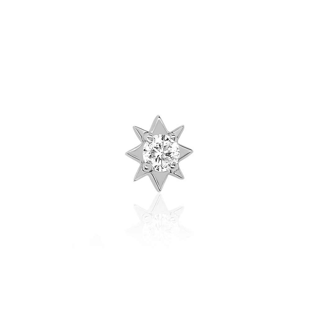 Mini North Star Diamond Studs Mini North Star Diamond Studs