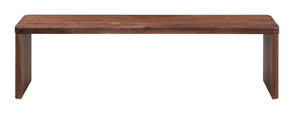 Form Bench, American Walnut
