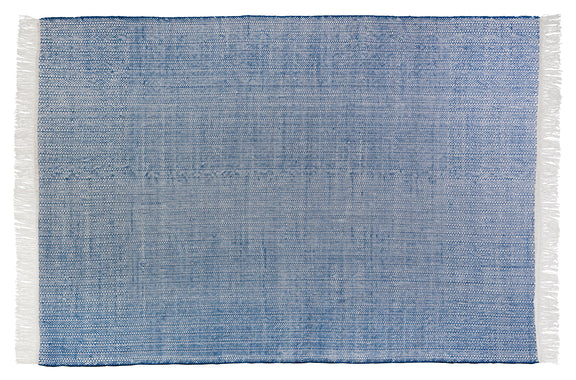 Seaside Rug 5x8, Blueberry