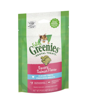 Greenies Cat Treat Salmon 60g