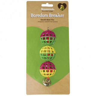 Rosewood Boredom Breaker Lattice Balls With Bell