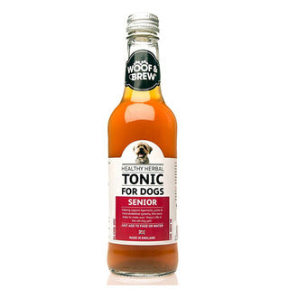 Woof & Brew Senior Herbal Tonic