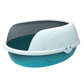SHERBIN Cat Litter Tray with Rim