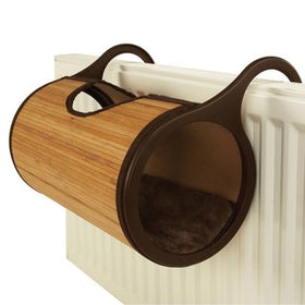 Rosewood Jolly Moggy Bamboo Cat Radiator Bed