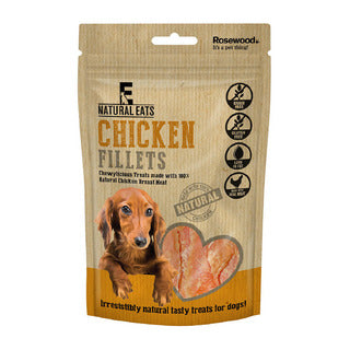 Rosewood Chicken Fillets for Dogs 100g