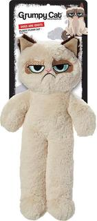 Grumpy Cat Floppy Plush Cat & Dog Toy