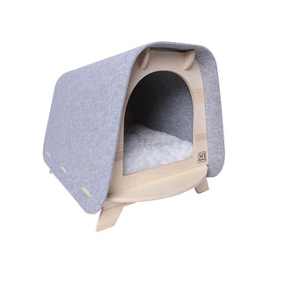 M-Pets Woody Cozy Cat House