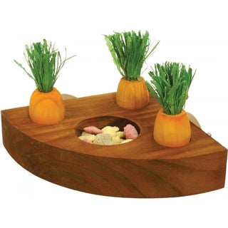 Rosewood Carrot Toy 'n' Treat Holder