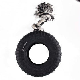 Squeaky Rubber Tyre Toy