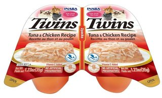 Inaba Cat Twins Tuna & Chicken Recipe