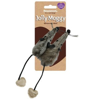Rosewood Jolly Moggy  Mice 2pk