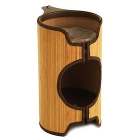 Rosewood Jolly Moggy Bamboo Cat Tower