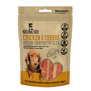 Rosewood Chicken & Cheese Bacon Treats 100g