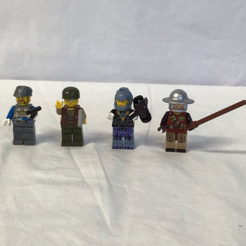 LEGO mini figures 4 pack