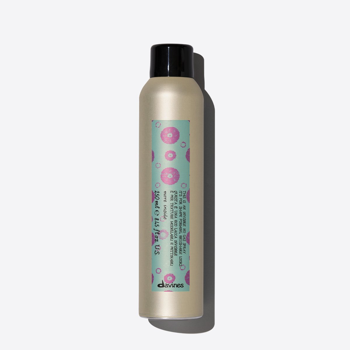 This is an Invisible No Gas Hair Spray by Davines