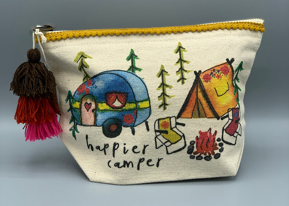 Natural Life - Canvas Pouch - HapCamp