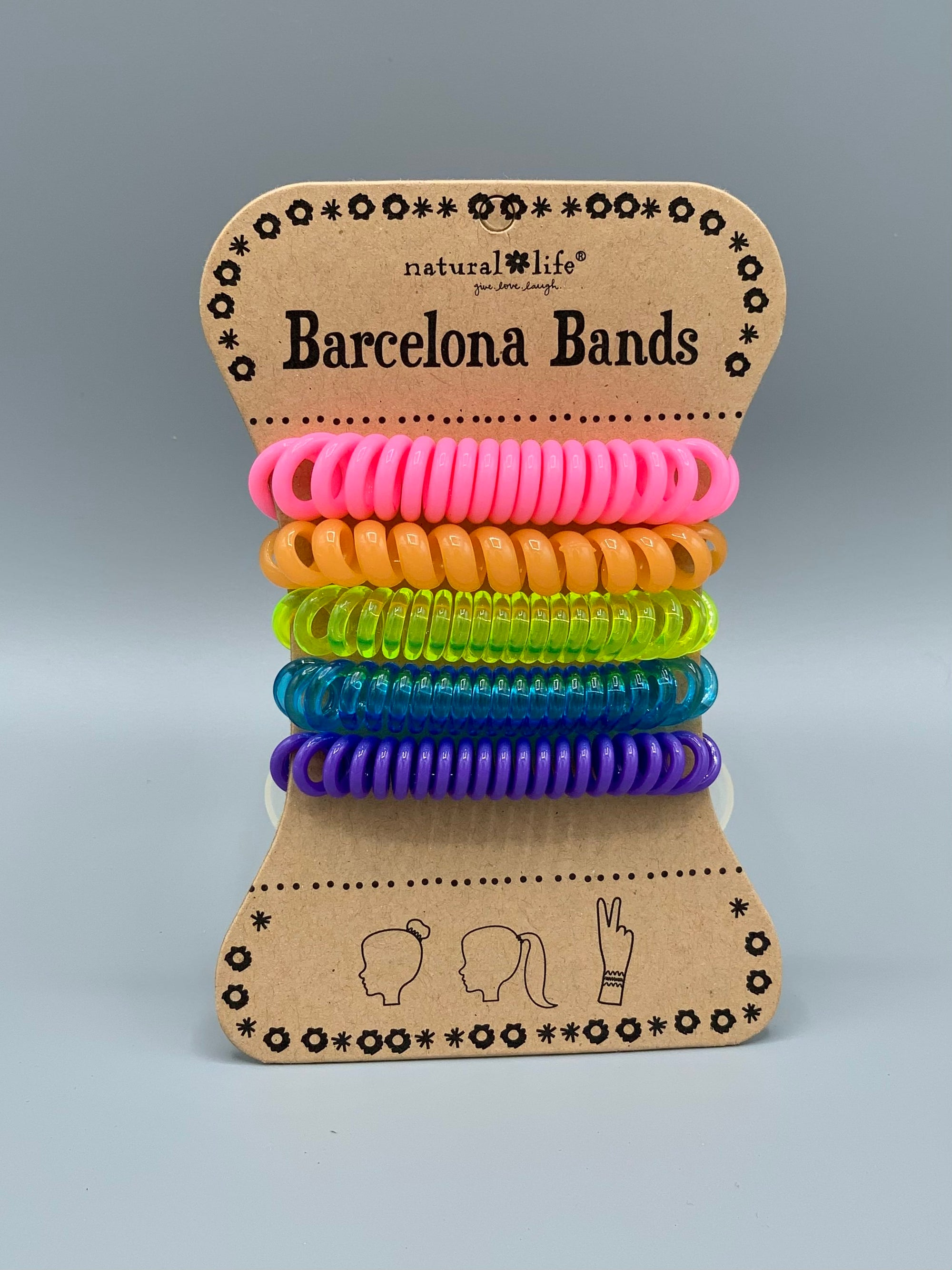 Natural Life Barcelona Bands- Plastic Neon