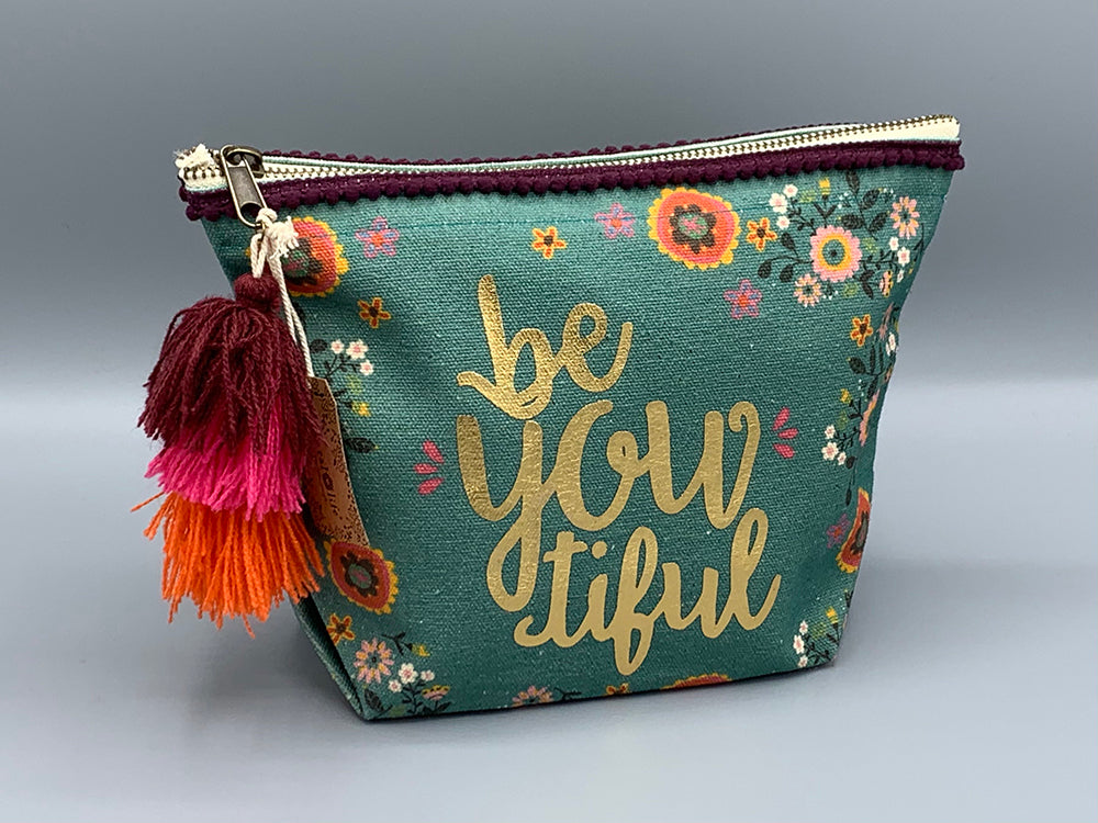 Natural Life - Canvas Pouch - Be You