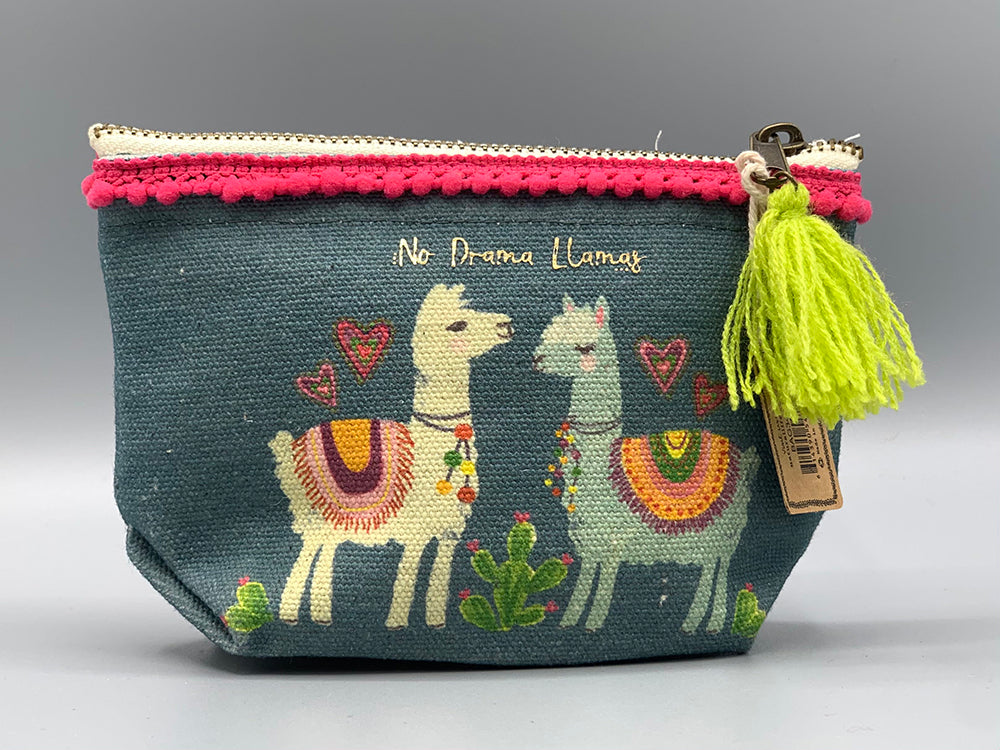 Natural Life - Mini Canvas Pouch - NoDrama