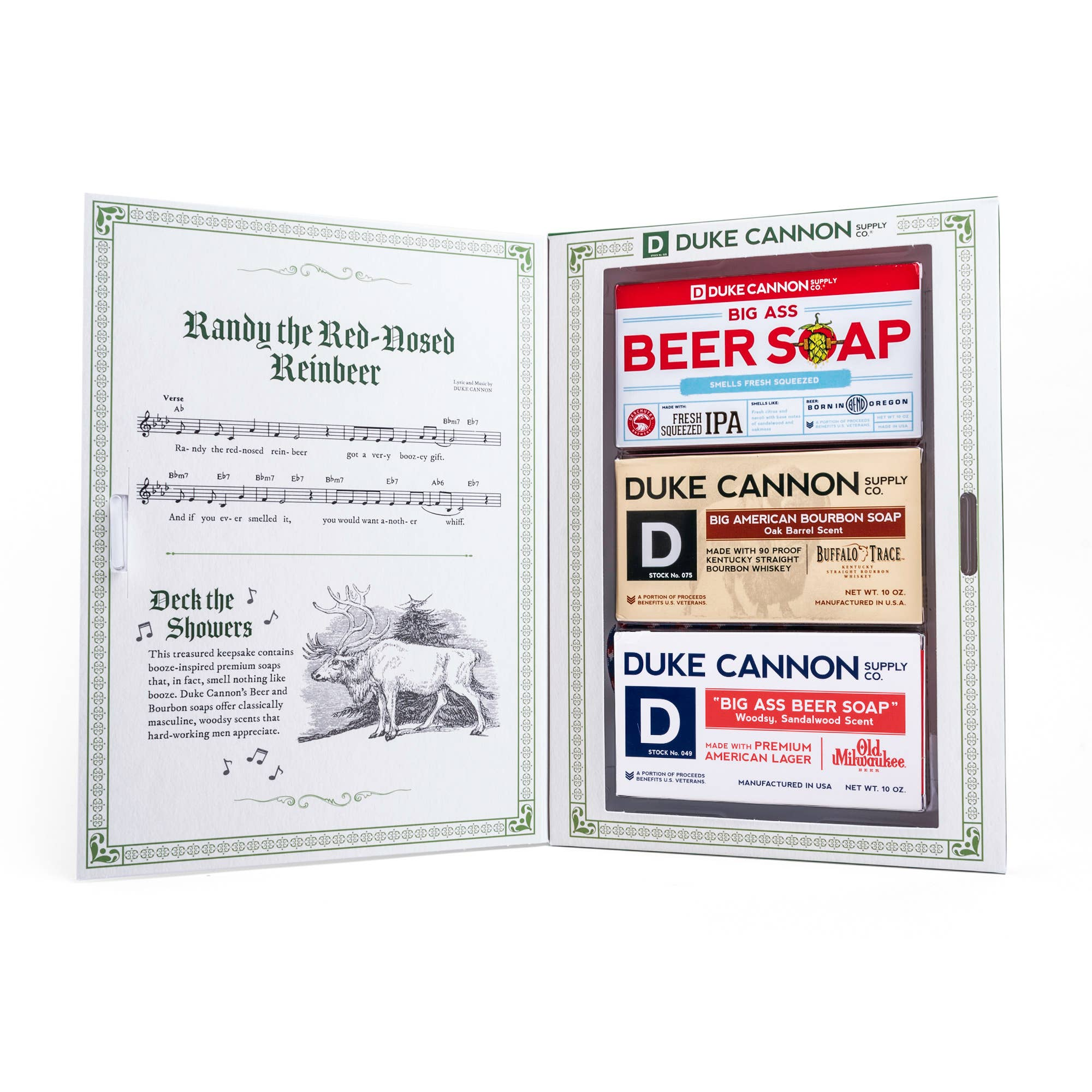 Jingle Booze Gift Set
