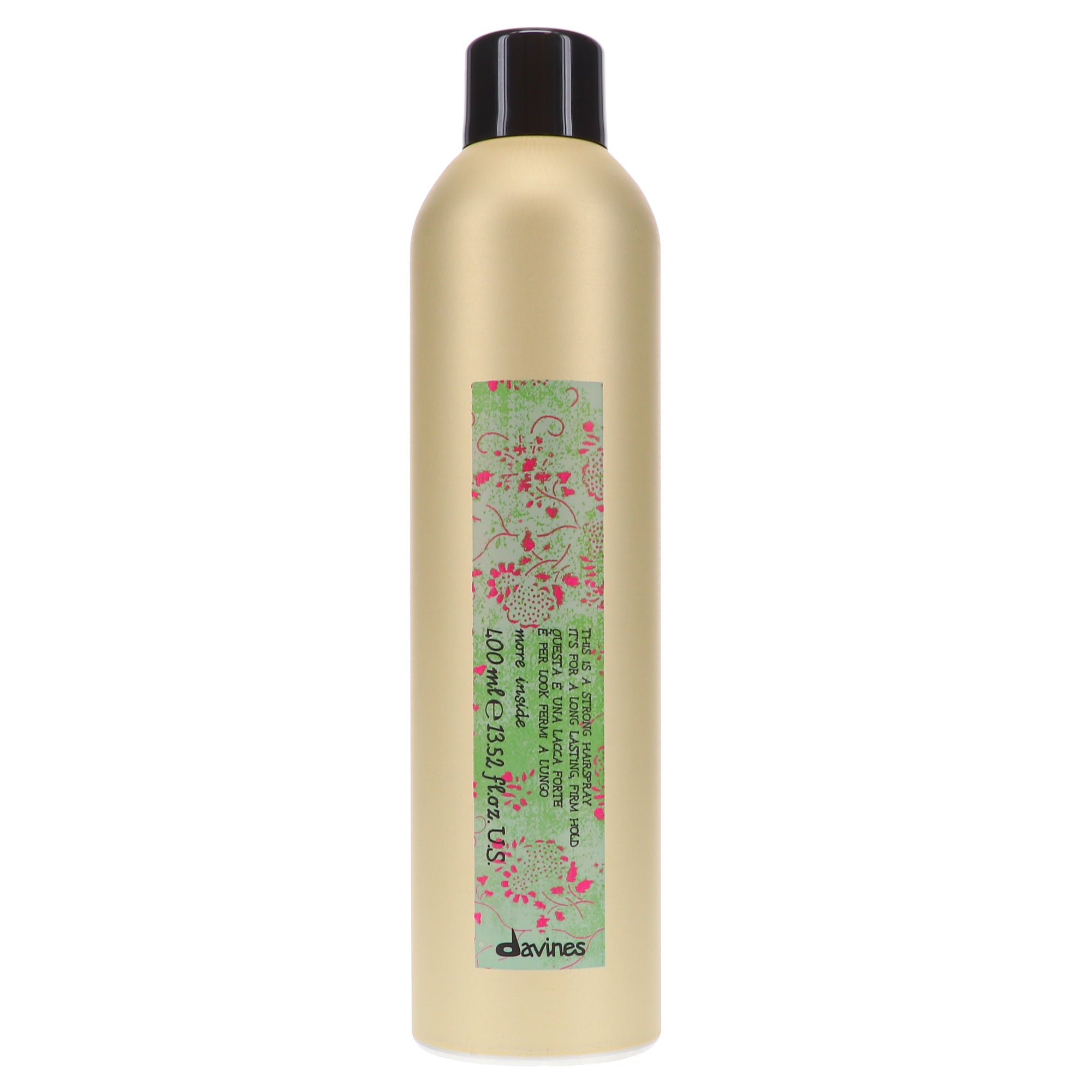 This is a Strong Hair Spray by Davines