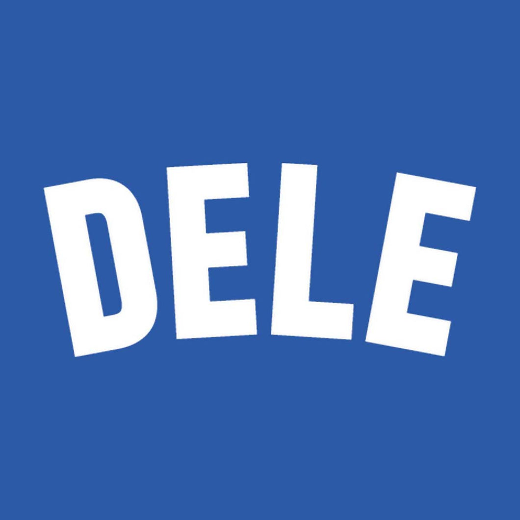 England Dele Name Block (White)