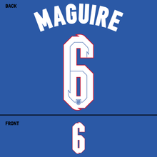 Load image into Gallery viewer, England Maguire Name Kit (White)