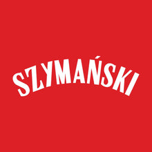 Load image into Gallery viewer, Poland Szymanski Name Kit (White)