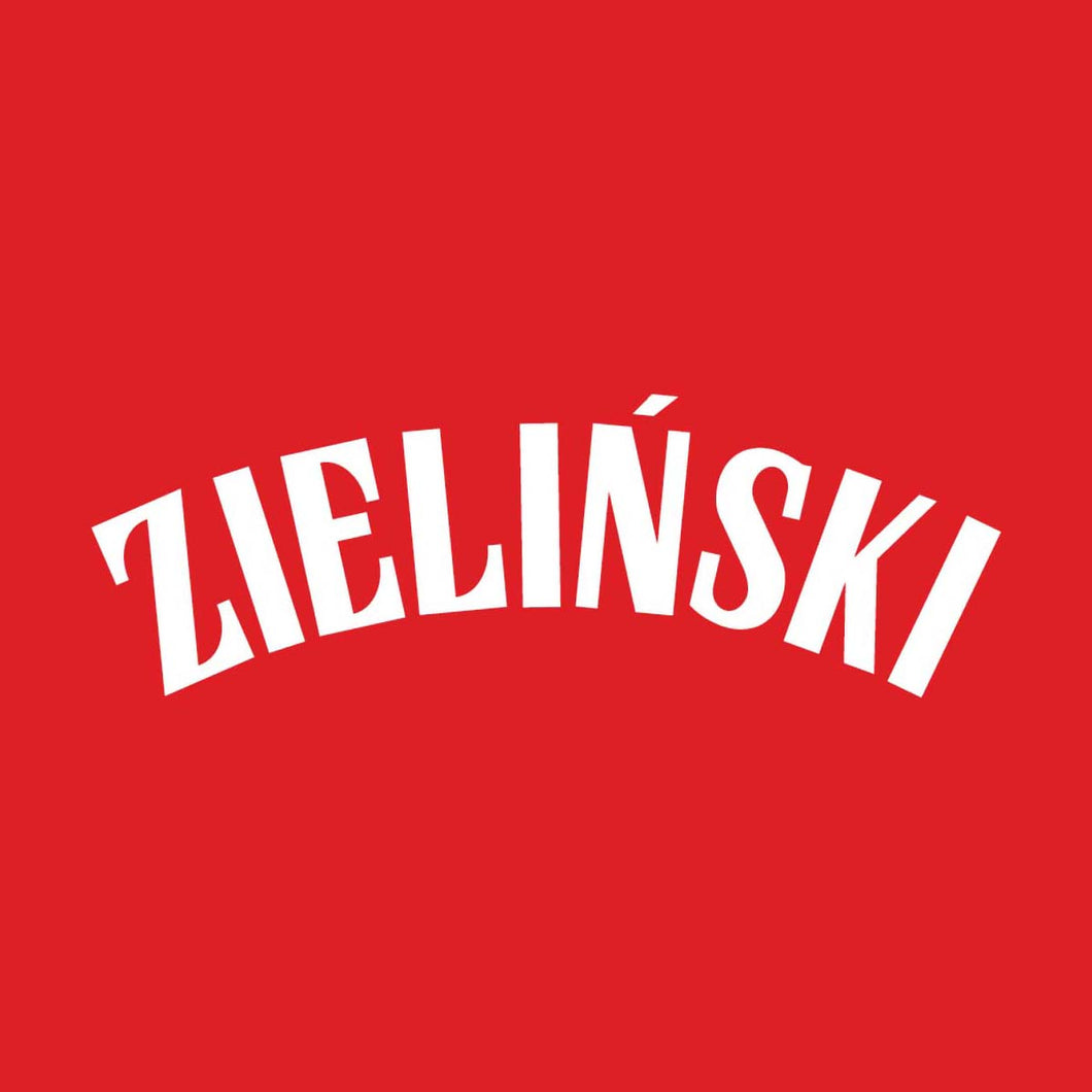Poland Zielinski Name Block (White)