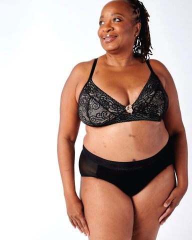 gloria sexy lace pocketed bra by anaono perfect for mastectomy, lumpectomy, radiation treatment and breast reconstruction surgery