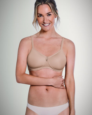 satin wire free post surgical bra perfect for mastectomy lumpectomy and breast reconstruction surgery