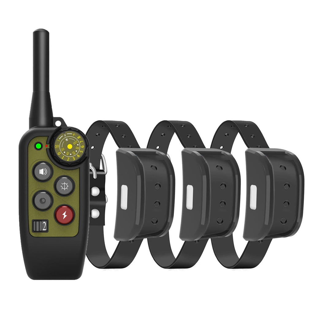 Premium Dog Training E-Collar 4,000 Feet Remote Range, Mutiple Training Modes