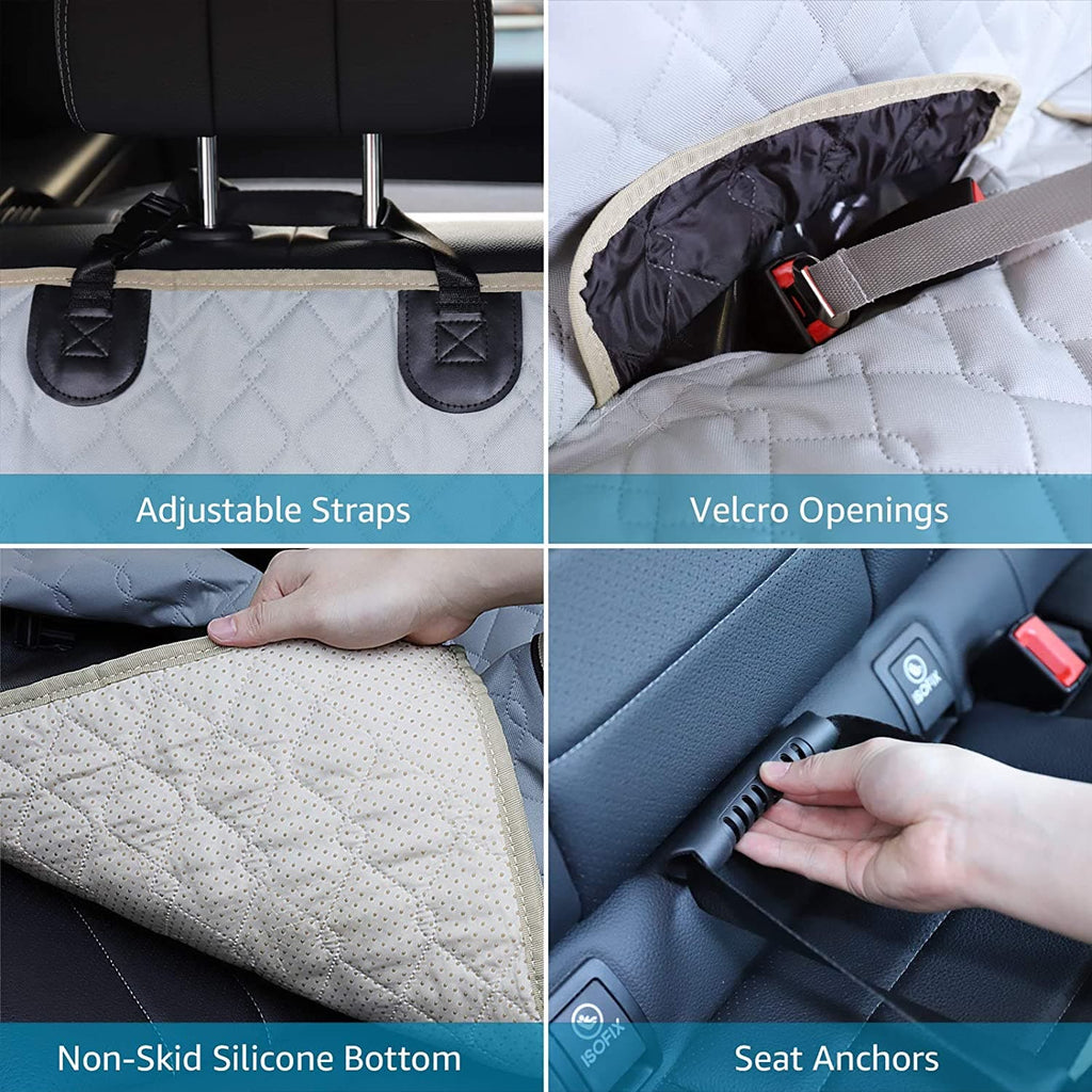 Dog Seat Covers for Car, Trucks & SUVs Back Seat